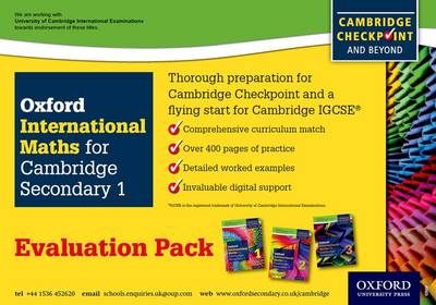 Complete Mathematics for Cambridge Secondary 1- Evaluation Pack: For Cambridge Checkpoint and Beyond