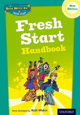 Read Write Inc. Fresh Start: Handbook - Read Write Inc. Fresh Start (Spiral bound)