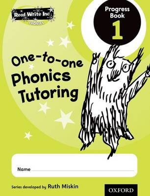 Read Write Inc.: Phonics: One-to-One Phonics Tutoring Progress Book 1 Pack of 5 - Read Write Inc.