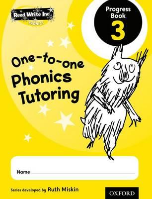 Read Write Inc.: Phonics One-to-One Phonics Tutoring Progress Book 3 Pack of 5 - Read Write Inc.