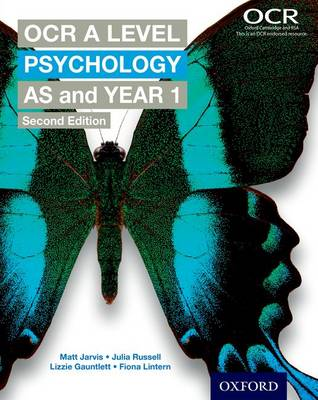 OCR A Level Psychology AS and Year 1 (Paperback)