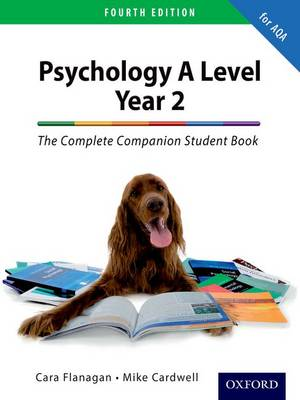 The Complete Companion for AQA Psychology A Level: Year 2 Student Book (Paperback)