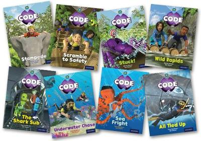 Project X Code: Jungle Trail & Shark Dive Pack of 8 - Project X Code