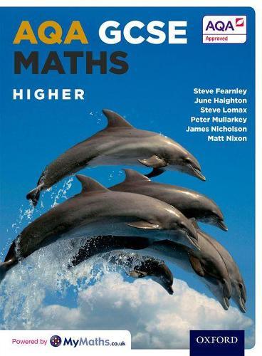 AQA GCSE Maths Higher Student Book (Paperback)