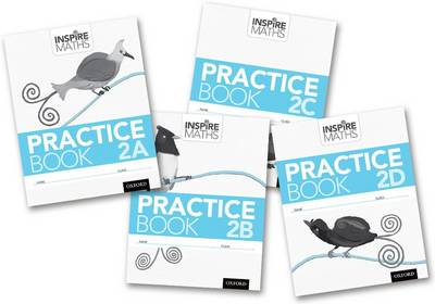 Inspire Maths: Practice Book 2 ABCD (Mixed Pack) - Inspire Maths