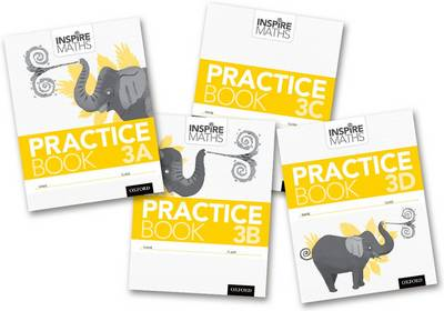 Inspire Maths: Practice Book 3 ABCD (Mixed Pack) - Inspire Maths