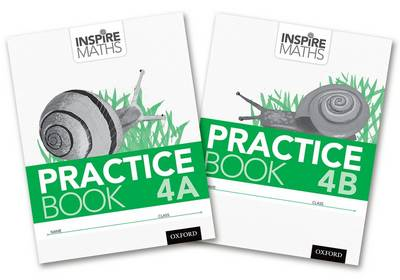 Inspire Maths: Practice Book 4 AB (Mixed Pack) - Inspire Maths