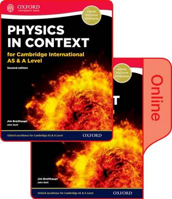 Physics in Context for Cambridge International as & A Level 2nd Edition: Print and Online Student Book Pack