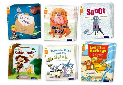 Oxford Reading Tree Story Sparks: Oxford Level 6: Mixed Pack of 6 - Oxford Reading Tree Story Sparks