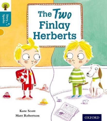 Oxford Reading Tree Story Sparks: Oxford Level 9: The Two Finlay Herberts - Oxford Reading Tree Story Sparks (Paperback)