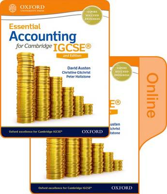 Essential Accounting for Cambridge IGCSE: Print and Online Student Book Pack