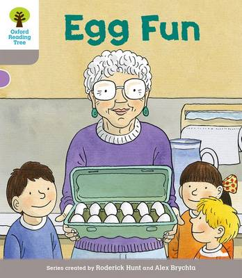 Oxford Reading Tree Biff, Chip and Kipper Stories Decode and Develop: Level 1: Egg Fun - Oxford Reading Tree Biff, Chip and Kipper Stories Decode and Develop (Paperback)