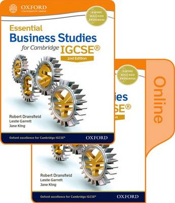 Essential Business Studies for Cambridge IGCSE (R): Online Student Book