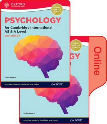 Psychology for Cambridge International AS and A Level (9990 syllabus): Print and Online Student Book Pack