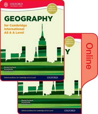 Geography for Cambridge International AS & A Level: Print and Online Student Book Pack