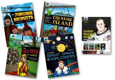 Project X Origins Graphic Texts: Dark Red Book Band, Oxford Level 17: Mixed Pack of 4 - Project X Origins Graphic Texts