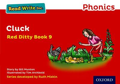 Read Write Inc. Phonics: Red Ditty Book 9 Cluck - Read Write Inc. Phonics (Paperback)