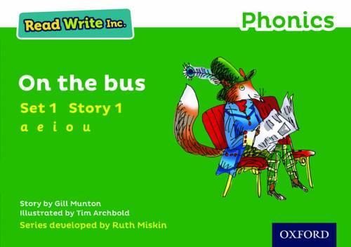 Read Write Inc. Phonics: Green Set 1 Storybook 1 On The Bus - Read Write Inc. Phonics (Paperback)