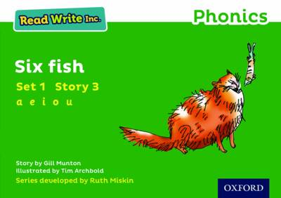 Read Write Inc. Phonics: Green Set 1 Storybook 3 Six Fish - Read Write Inc. Phonics (Paperback)