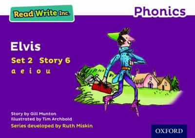 Read Write Inc. Phonics: Purple Set 2 Storybook 6 Elvis - Read Write Inc. Phonics (Paperback)