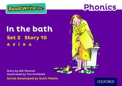 Read Write Inc. Phonics: Purple Set 2 Storybook 10 In the Bath - Read Write Inc. Phonics (Paperback)