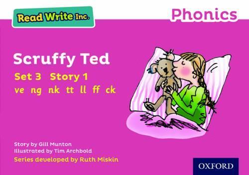 Read Write Inc. Phonics: Pink Set 3 Storybook 1 Scruffy Ted - Read Write Inc. Phonics (Paperback)