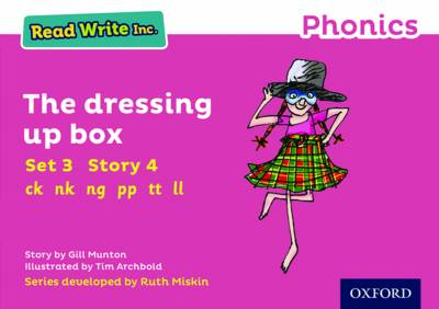Read Write Inc. Phonics: Pink Set 3 Storybook 4 The Dressing Up Box - Read Write Inc. Phonics (Paperback)