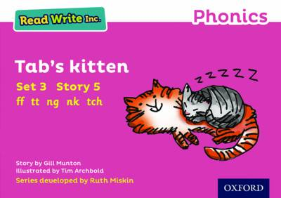 Read Write Inc. Phonics: Pink Set 3 Storybook 5 Tab's Kitten - Read Write Inc. Phonics (Paperback)