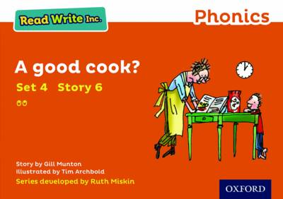 Read Write Inc. Phonics: Orange Set 4 Storybook 6 A Good Cook? - Read Write Inc. Phonics (Paperback)