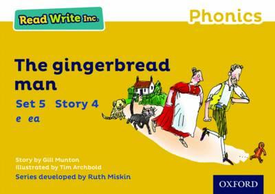 Read Write Inc. Phonics: Yellow Set 5 Storybook 4 The Gingerbread Man - Read Write Inc. Phonics (Paperback)