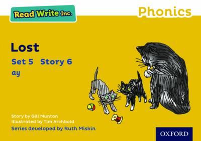 Read Write Inc. Phonics: Yellow Set 5 Storybook 6 Lost - Read Write Inc. Phonics (Paperback)