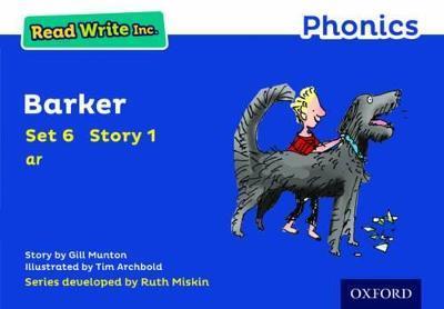 Read Write Inc. Phonics: Blue Set 6 Storybook 1 Barker - Read Write Inc. Phonics (Paperback)