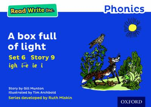 Read Write Inc. Phonics: Blue Set 6 Storybook 9 A Box Full of Light - Read Write Inc. Phonics (Paperback)