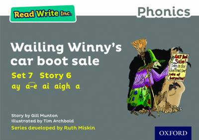 Read Write Inc. Phonics: Grey Set 7 Storybook 6 Wailing Winny's Car Boot Sale - Read Write Inc. Phonics (Paperback)