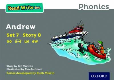 Read Write Inc. Phonics: Grey Set 7 Storybook 8 Andrew - Read Write Inc. Phonics (Paperback)