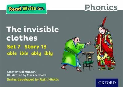 Read Write Inc. Phonics: Grey Set 7 Storybook 13 The Invisible Clothes - Read Write Inc. Phonics (Paperback)