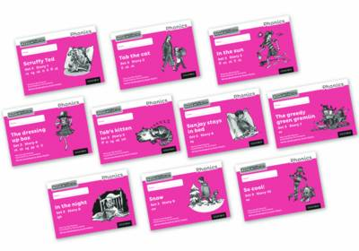 Read Write Inc. Phonics: Black and White Pink Set 3 Storybooks Mixed Pack of 10 - Read Write Inc. Phonics