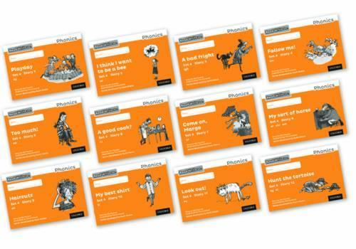 Read Write Inc. Phonics: Black and White Orange Set 4 Storybooks Mixed Pack of 12 - Read Write Inc. Phonics