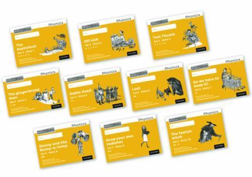 Read Write Inc. Phonics: Black and White Yellow Set 5 Storybooks Mixed Pack of 10 - Read Write Inc. Phonics