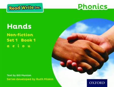 Read Write Inc. Phonics: Green Set 1 Non-fiction 1 Hands - Read Write Inc. Phonics (Paperback)