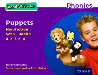Read Write Inc. Phonics: Purple Set 2 Non-fiction 5 Puppets - Read Write Inc. Phonics (Paperback)