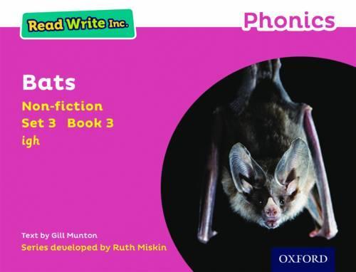 Read Write Inc. Phonics: Pink Set 3 Non-fiction 3 Bats - Read Write Inc. Phonics (Paperback)