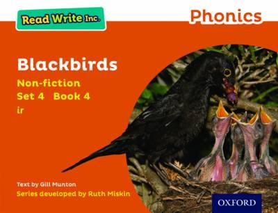 Read Write Inc. Phonics: Orange Set 4 Non-fiction 4 Blackbirds - Read Write Inc. Phonics (Paperback)
