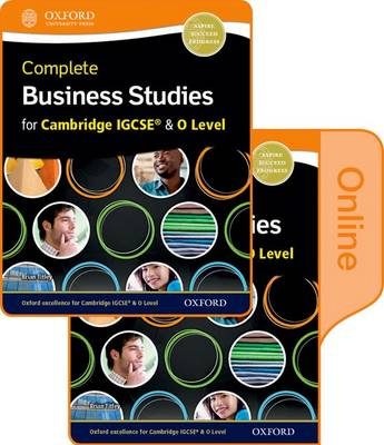 Complete Business Studies for Cambridge IGCSE and O Level: Print & Student Book