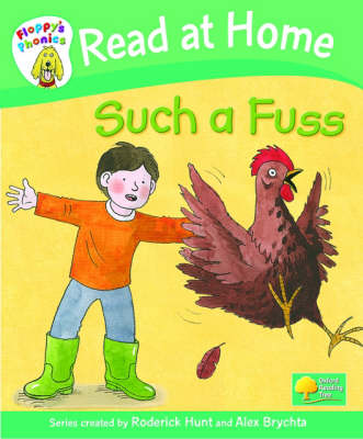 Read at Home: Floppy's Phonics: L2b: Such a Fuss (Hardback)