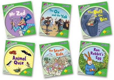 Oxford Reading Tree: Level 2: More Songbirds Phonics: Pack (6 books, 1 of each title) - Oxford Reading Tree