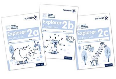 Numicon: Number, Pattern and Calculating 2 Explorer Progress Books ABC (Mixed pack): Numicon: Number, Pattern and Calculating 2 Explorer Progress Books ABC (Mixed pack) 2 - Numicon