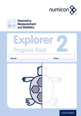 Numicon: Geometry, Measurement and Statistics 2 Explorer Progress Book (Pack of 30) - Numicon