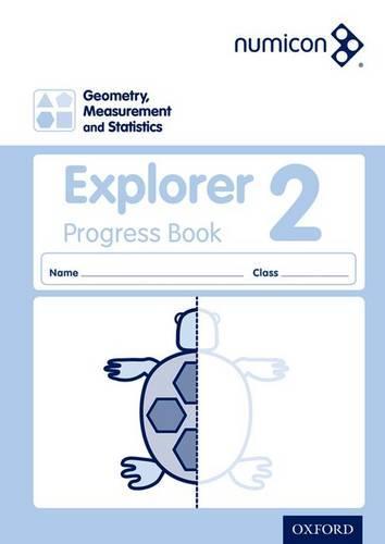 Numicon: Geometry, Measurement and Statistics 2 Explorer Progress Book - Numicon (Paperback)