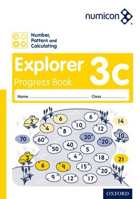 Numicon: Number, Pattern and Calculating 3 Explorer Progress Book C (Pack of 30) - Numicon